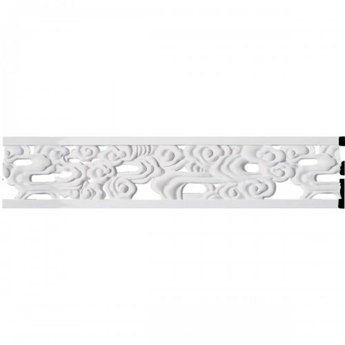 7H x 5/8P x 94 1/2L Flower Pierced Panel Moulding