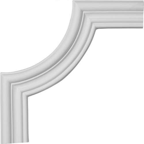 8 3/4W x 8 3/4H Claremont Panel Moulding Corner