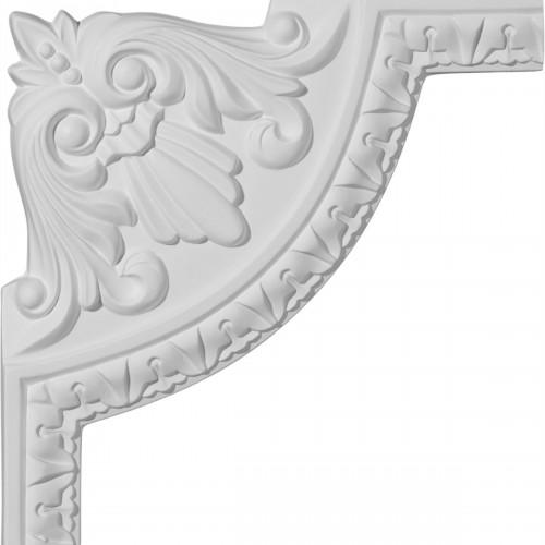 8 1/2W x 8 1/2H Nexus Acanthus Leaf Panel Moulding Corner