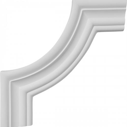 8 1/2W x 8 1/2H Oxford Panel Moulding Corner