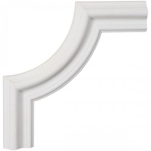 8W x 8H x 3/4P Seville Panel Moulding Corner
