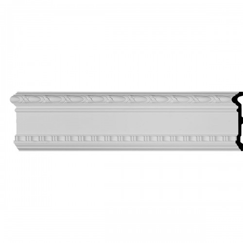 9 3/8H x 1 3/4P x 94 1/2L Wakefield Panel Moulding