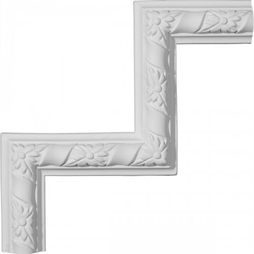9W x 9H Kendall Panel Moulding Corner